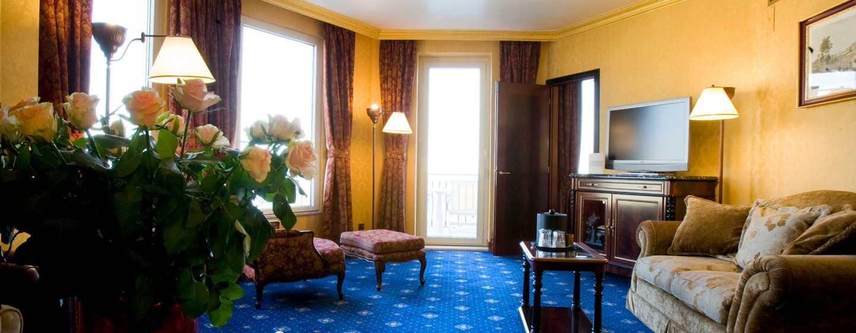 Hotel Hilton Giardini Naxos, Sicilia, Italia - Soggiorno della suite