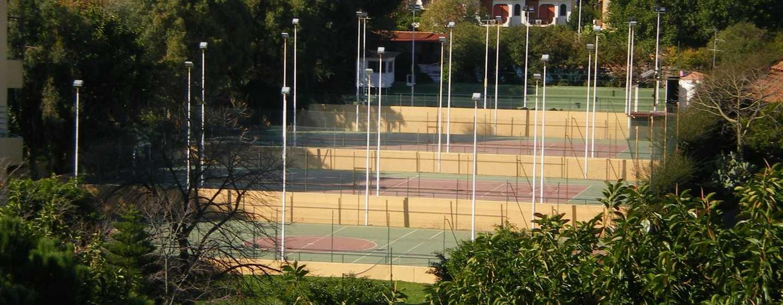 Hotel Hilton Giardini Naxos, Sicilia, Italia - Campi da Tennis