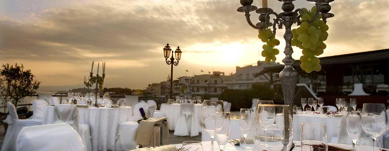 Hotel Hilton Giardini Naxos, Sicilia, Italia - Matrimonio al tramonto