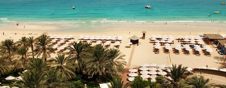 Hotel Hilton Dubai The Walk, Emirati Arabi Uniti - La spiaggia privata dell'hotel