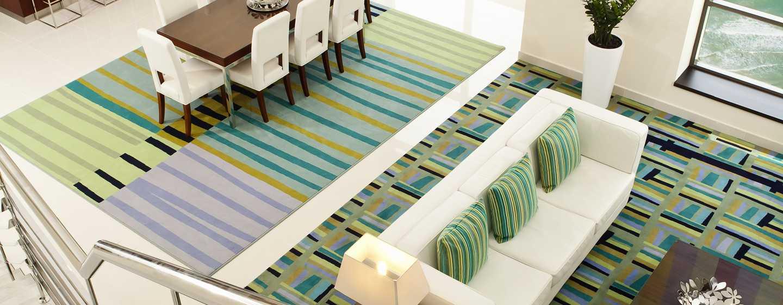 Hotel Hilton Dubai The Walk, Emirati Arabi Uniti - Appartamento a soppalco con una camera da letto