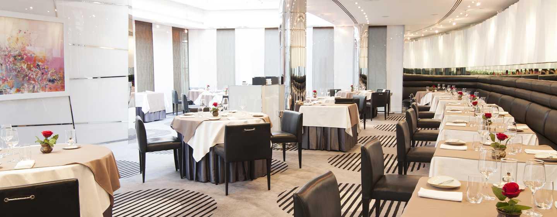 Hotel Hilton Dubai Creek, Emirati Arabi Uniti – Ristorante Table 9