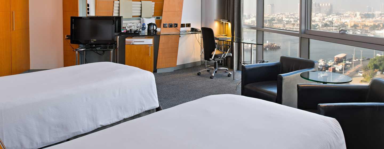 Hotel Hilton Dubai Creek, Emirati Arabi Uniti – Camera Deluxe con letti separati