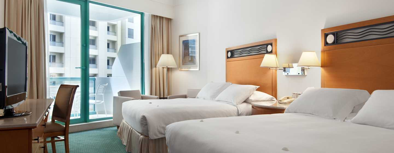 Hilton Dubai Jumeirah, Dubai, Emirati Arabi Uniti - Camera Deluxe Plus con letti separati