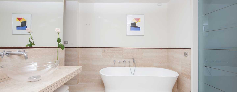 Hotel Hilton Florence Metropole, Italia - Bagno della suite