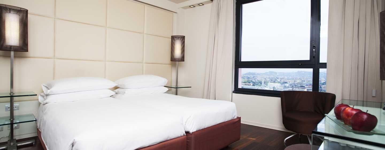Hotel Hilton Florence Metropole, Italia - Camera con letti separati