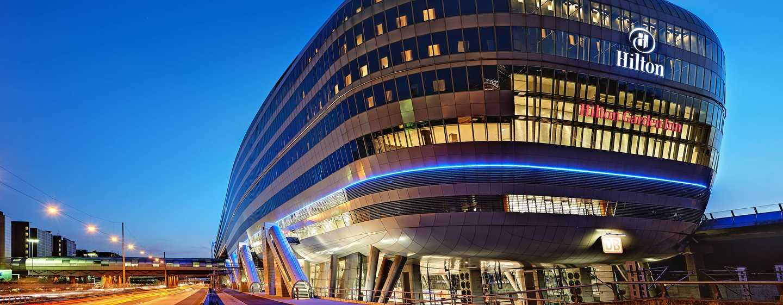 Hotel Hilton Frankfurt Airport, Germania - Esterno di THE SQUAIRE