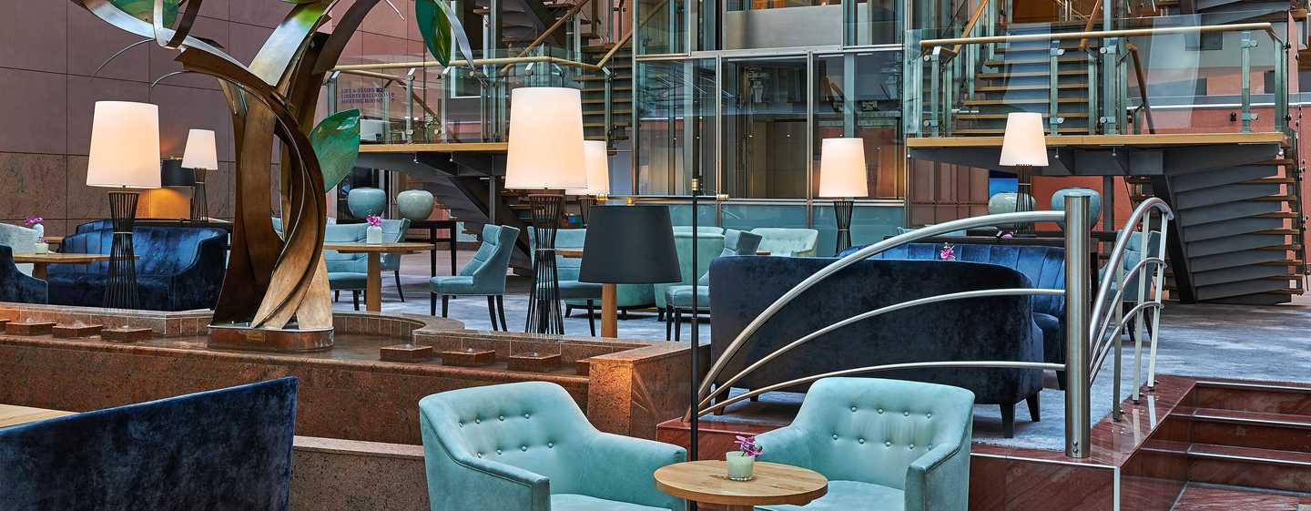 Hotel Hilton Frankfurt City Centre, Germania - Vista Bar & Lounge