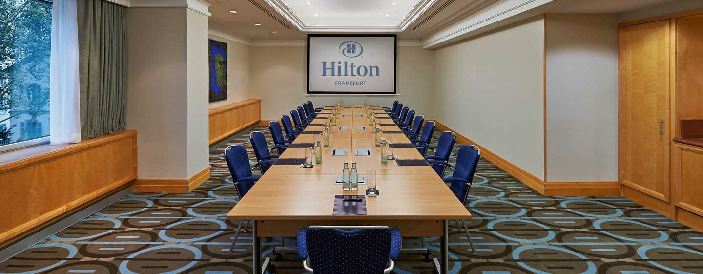Hotel Hilton Frankfurt City Centre, Germania - Piccola sala meeting