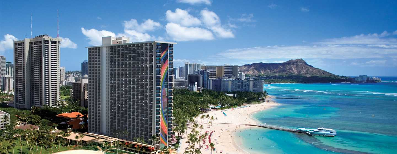 Hotel Hilton Hawaiian Village Waikiki Beach Resort, Stati Uniti d'America - Esterno hotel