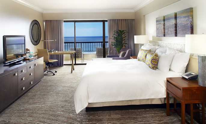 Hotel Hilton Hawaiian Village Waikiki Beach Resort, Stati Uniti d'America - Camera Rainbow fronte oceano con letto king size