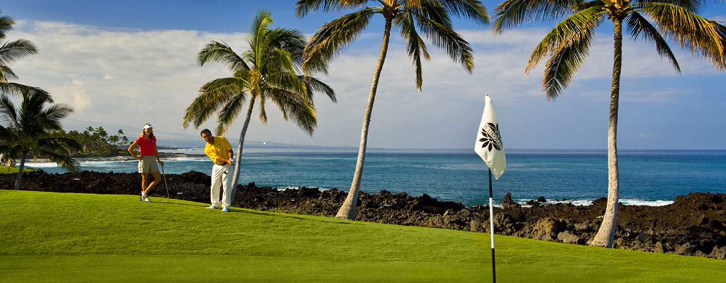 Hotel Hilton Waikoloa Village, Hawaii - Campi da golf a Waikoloa Beach