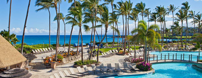 Hotel Hilton Waikoloa Village, Hawaii - Piscina Kona