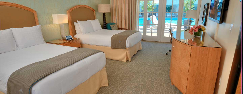 The Beverly Hilton, Stati Uniti d'America - Cabana doppia a bordo piscina
