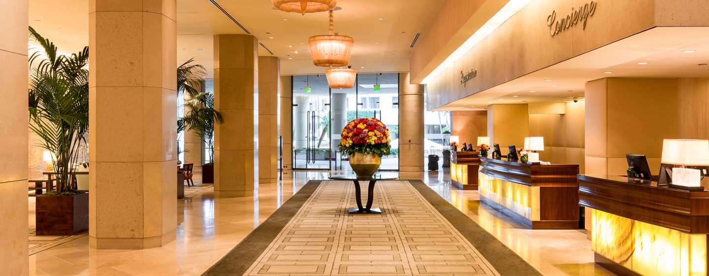 The Beverly Hilton, Stati Uniti d'America - Lobby dell'hotel