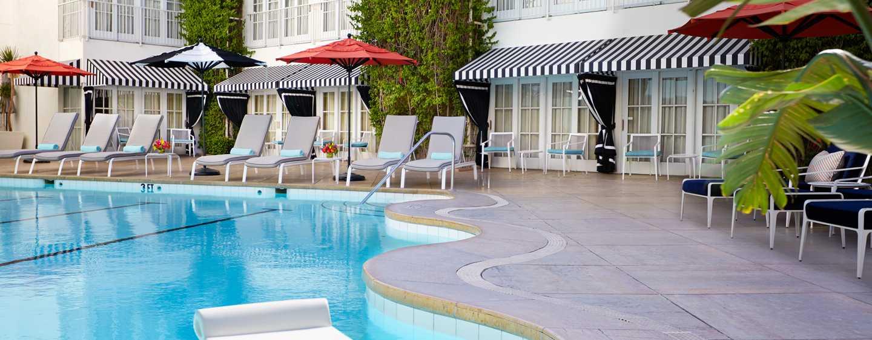 The Beverly Hilton, Stati Uniti d'America - Piscina esterna