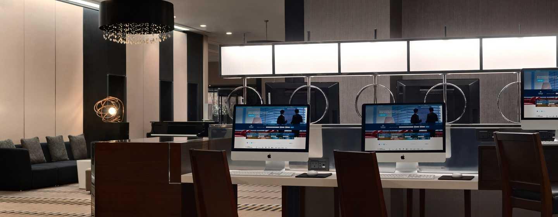 Hilton London Kensington, Regno Unito - Area computer
