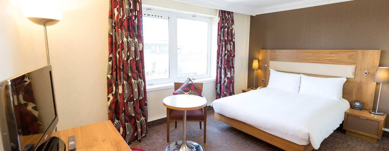 Hotel Hilton London Olympia, Regno Unito - Camera Hilton con letto matrimoniale