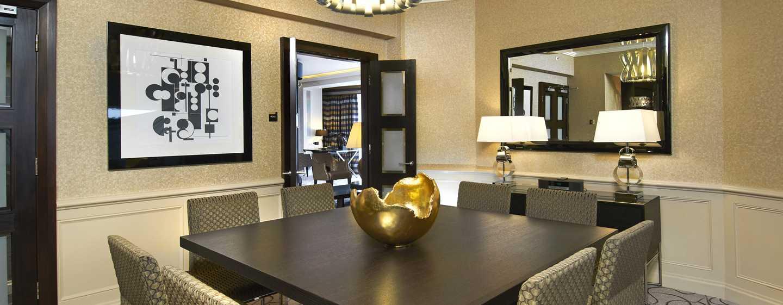 Hotel London Hilton on Park Lane, Regno Unito - Sala da pranzo della Suite Presidential