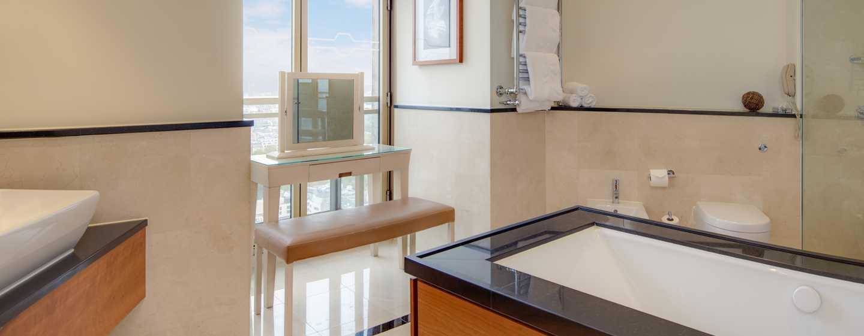 Hotel London Hilton on Park Lane, Regno Unito - Bagno della Suite Boutique