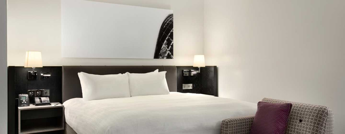 Hotel Hilton London Angel Islington, Regno Unito - Suite Executive con letto king size