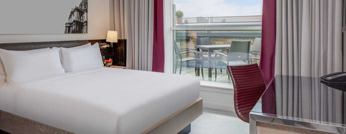 Hotel Hilton London Angel Islington, Regno Unito - Suite con terrazza