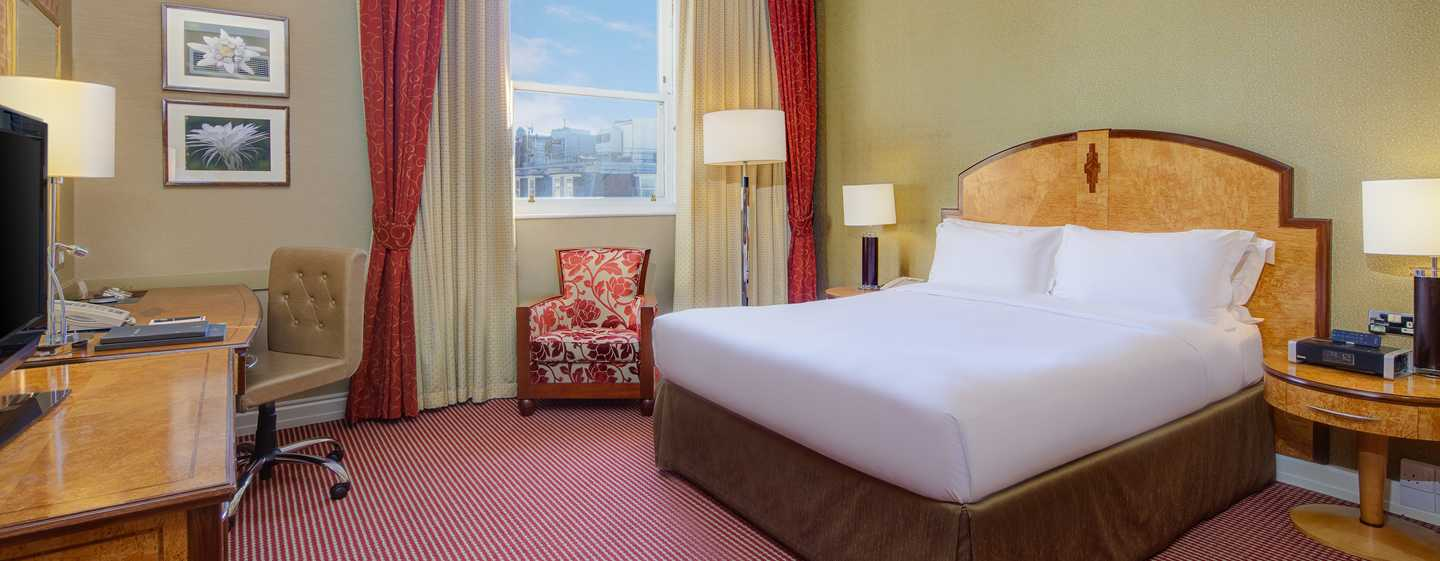 Hilton London Paddington, Regno Unito - Camera Hilton con letto matrimoniale
