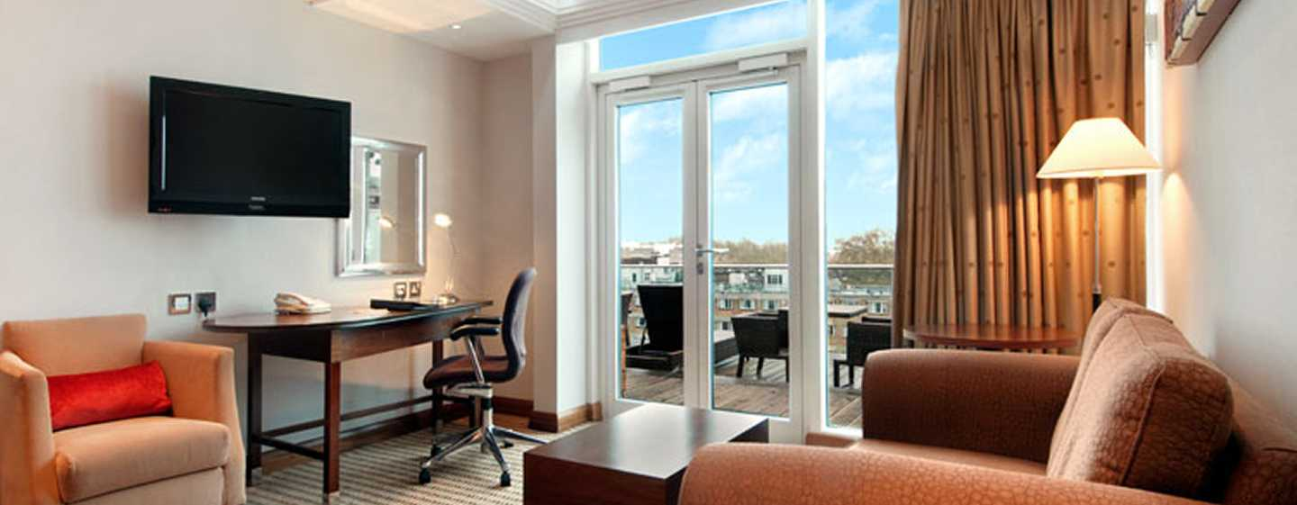 Hilton London Paddington, Regno Unito - Suite Hilton con letto queen size