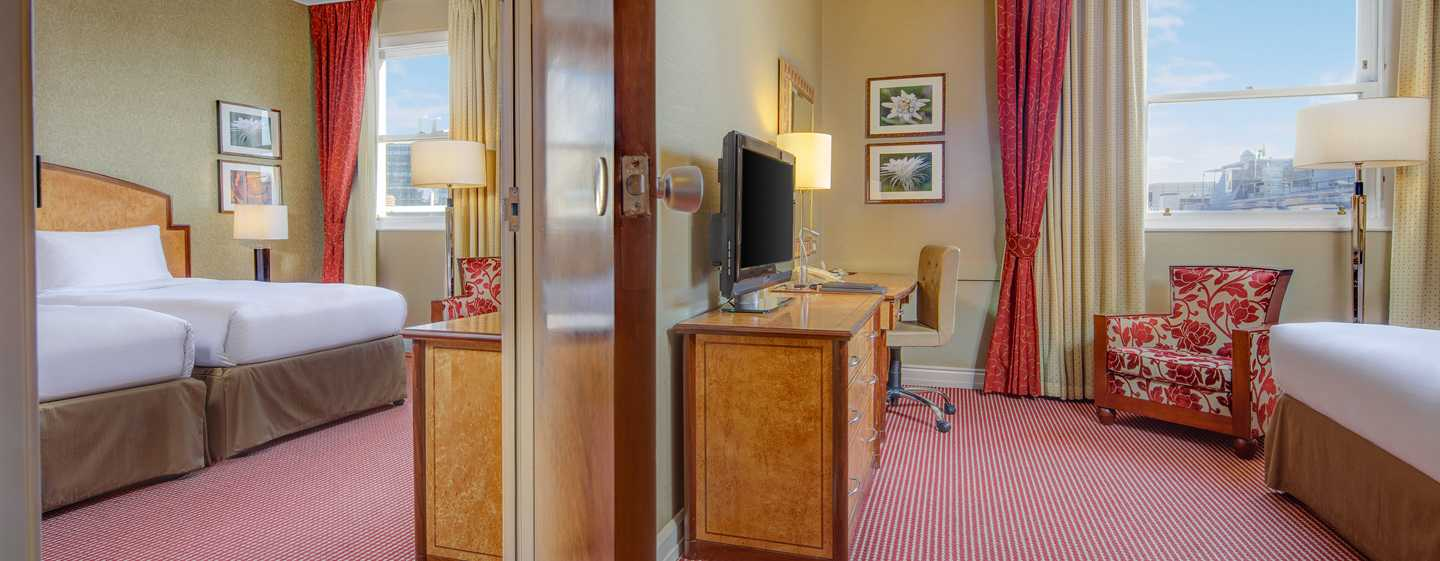Hilton London Paddington, Regno Unito - Camera comunicante per famiglie