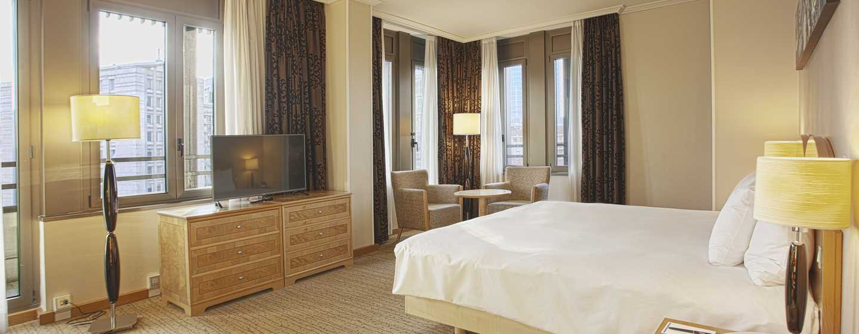 Hotel Hilton Milan, Italia - CAMERA EXECUTIVE CON LETTO KING SIZE
