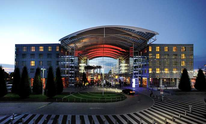 Hilton Munich Airport, Germania - Ingresso dell'hotel