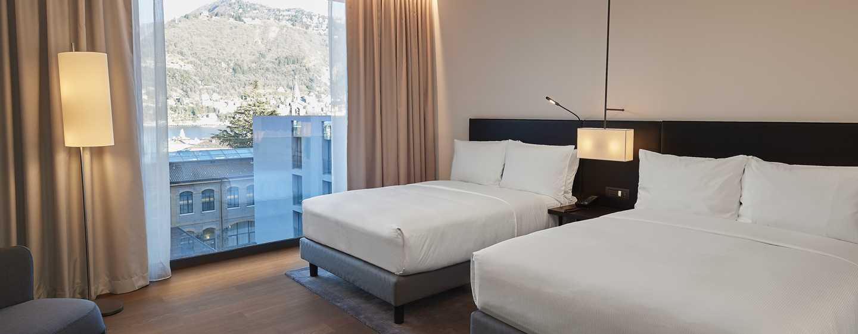 Hilton Lake Como, Italia - Camera con letti separati
