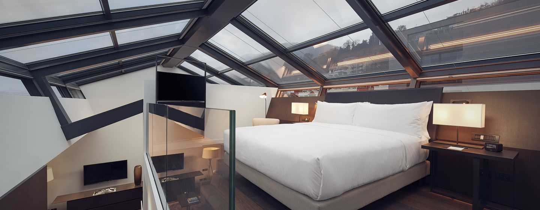 Hilton Lake Como, Italia - Suite Duplex