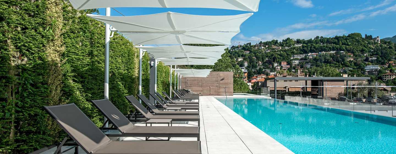 Hilton Lake Como, Italia - Piscina