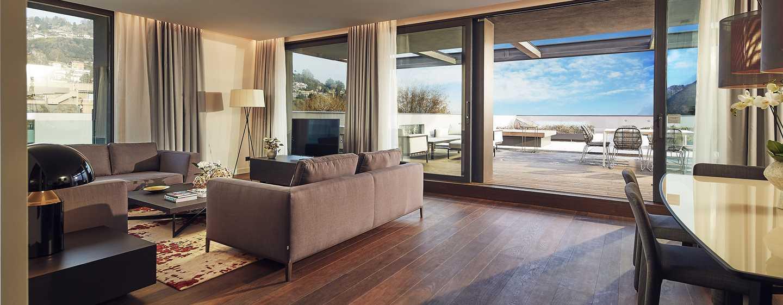 Hilton Lake Como, Italia - Suite Presidential
