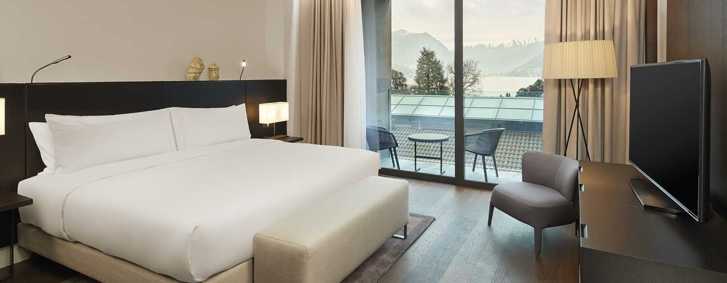 Hilton Lake Como, Italia - Suite con una camera da letto
