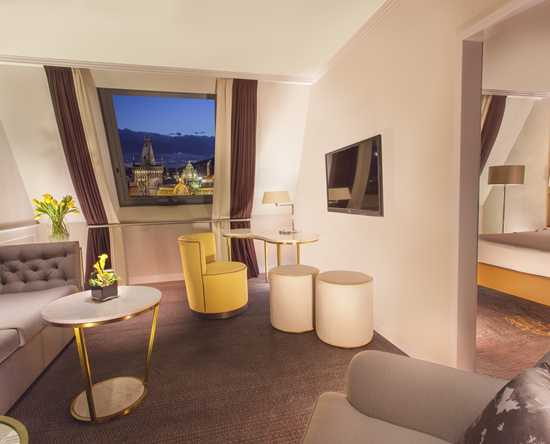 Hilton Prague Old Town, Repubblica Ceca - Suite Executive con letto king size