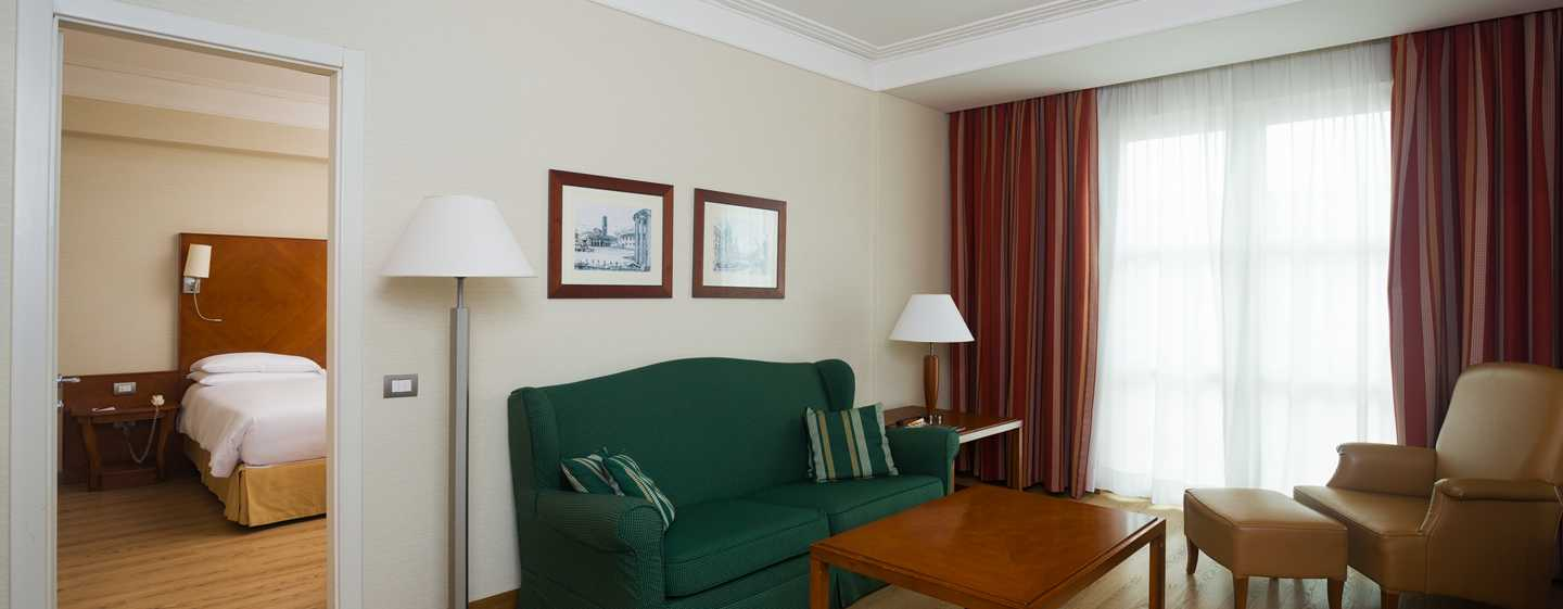 Hotel Hilton Rome Airport, Italia - Suite Junior