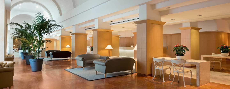 Hotel Hilton Rome Airport, Italia - Lobby lounge