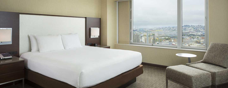 Hotel Hilton San Francisco Union Square, California, Stati Uniti d'America - Camera con letto king size