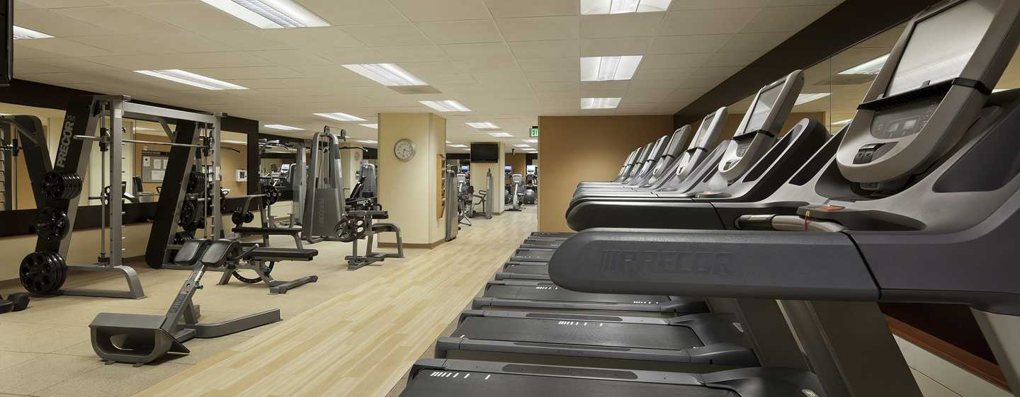 Hotel Hilton San Francisco Union Square, California, Stati Uniti d'America - Fitness center