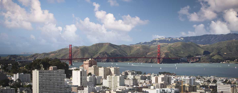 Hotel Hilton San Francisco Union Square, California, Stati Uniti d'America - Splendide viste sulla baia
