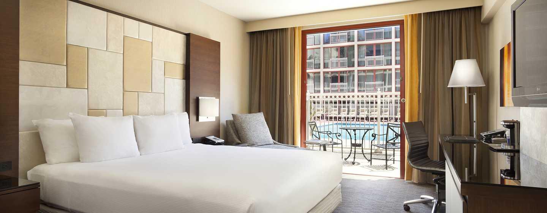 Hotel Hilton San Francisco Union Square, California, Stati Uniti d'America - Patio con vista sulla piscina