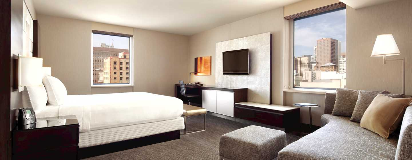 Hotel Hilton San Francisco Union Square, California, Stati Uniti d'America - Suite Junior con letto king size