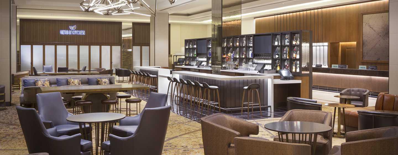 Hotel Hilton San Francisco Union Square, California, Stati Uniti d'America - Lobby bar