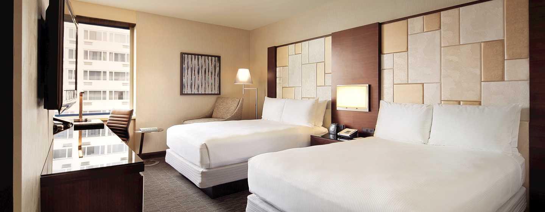 Hotel Hilton San Francisco Union Square, California, Stati Uniti d'America - Due letti matrimoniali