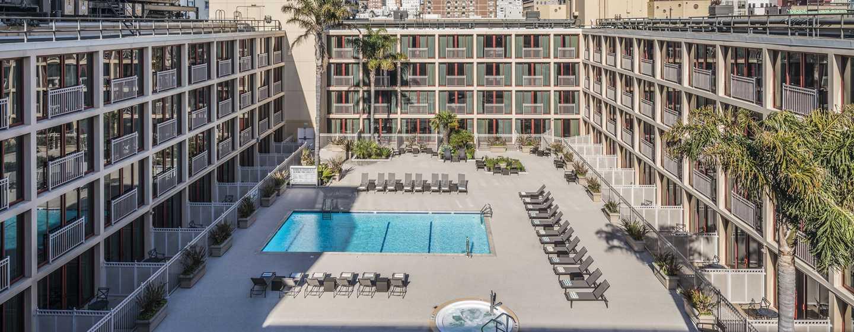 Hotel Hilton San Francisco Union Square, California, Stati Uniti d'America - Vista della piscina