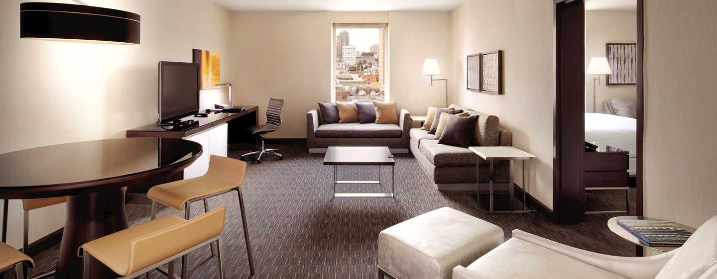 Hotel Hilton San Francisco Union Square, California, Stati Uniti d'America - Suite con salotto