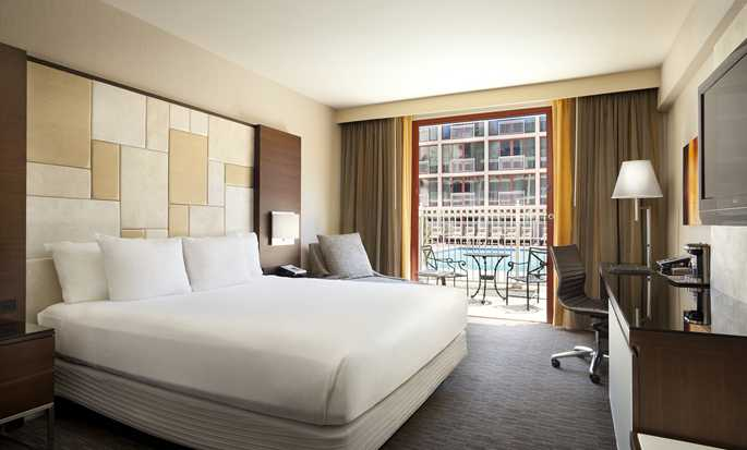 Hotel Hilton San Francisco Union Square, California, Stati Uniti d'America - Camera con letto king size