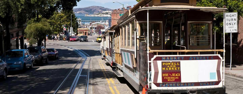 Parc 55 San Francisco - a Hilton Hotel, Stati Uniti - I famosi tram di San Francisco